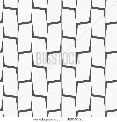Repeating Ornament Vertical Gray Corners
