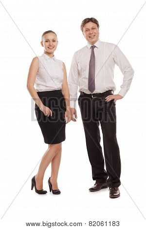 man and woman in formal clothes jackets off