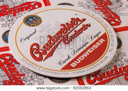 Beermats From Budweiser  Beer