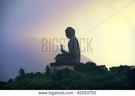 Tian Tan Buddha ( Big Buddha ), Po Lin Monastery, Hong Kong