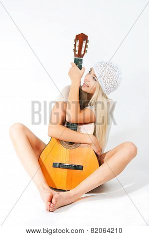The Image Of The Girl With A Guitar