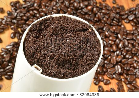 Fresh Ground Coffee