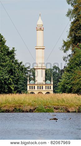 minaret, Czech Republic, Europe