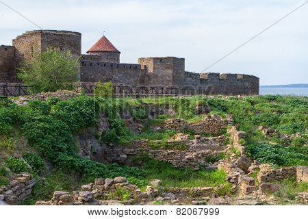 Citadel On The Dniester Estuary