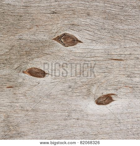 Old wooden plywood fragment