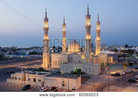 Mosque In Ras Al-khaimah