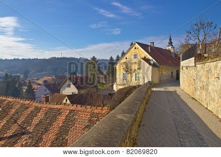 Historic Town Of Varazdinske Toplice Walkway