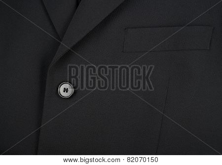 Upper fragment of a business man suit