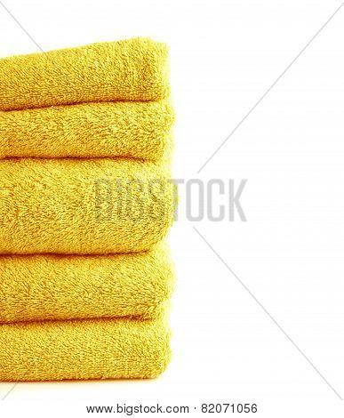 Terry cloth bath towel composition