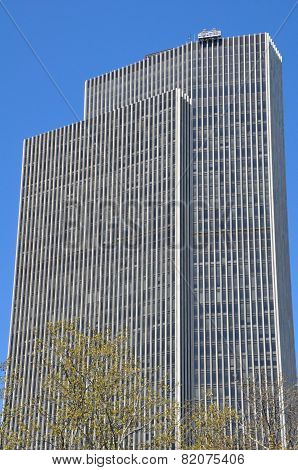 The Erastus Corning Tower in Albany, New York