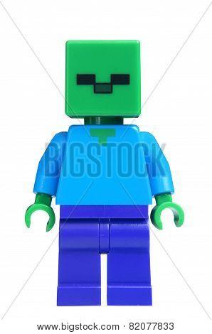 Minecraft Zombie Lego Minifigure