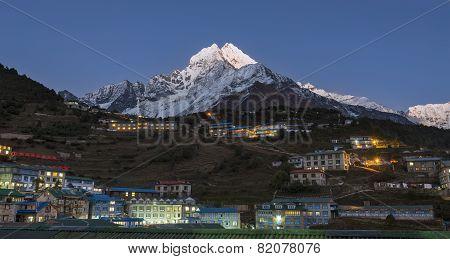 Namche Sunset Nepal