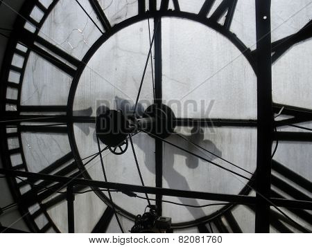 Interior Clock face