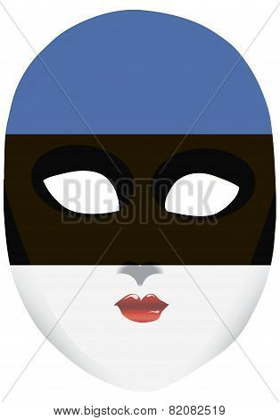 Estonia Mask