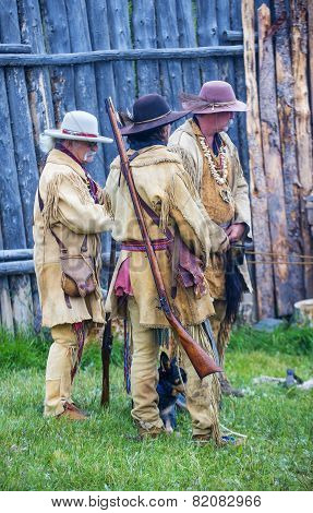 Fort Bridger Rendezvous 2014