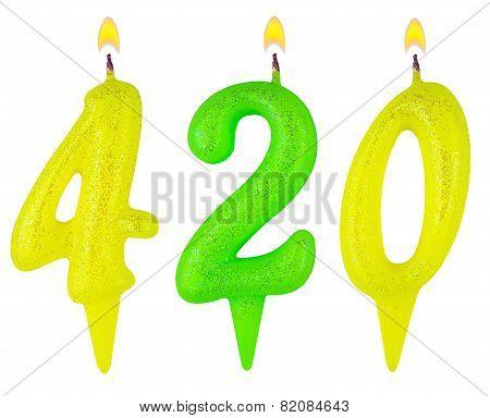 Candles Number Four Hundred Twenty