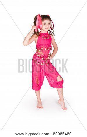 Girl In East Suit
