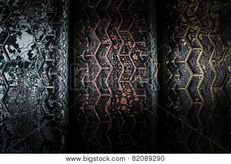 Grunge Tyre Background