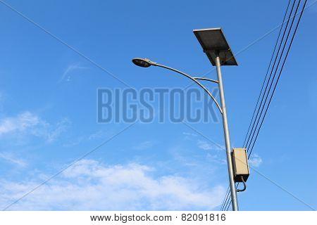 Solar Cell Street Lamp
