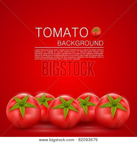 Cover with tomatoes