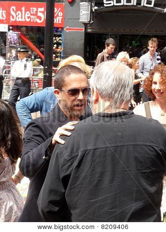 Lee Unkrich And Terry Gilliam At Toy Story 3 Premiere In Central London 18Th July 2010