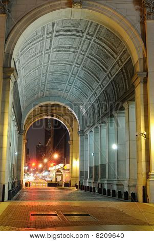 Archway in Municipal Building