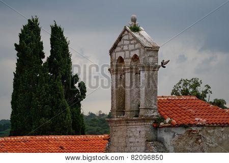 St. Andrew Basilica Roof, Istria, Croatia