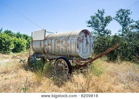 Antique Water Cart