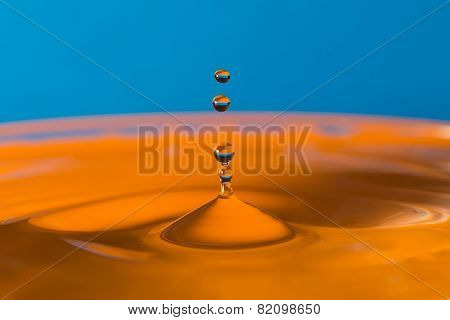 Falling Drop Of Water