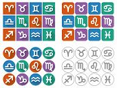 stock photo of long-fish  - Signs Of The Zodiac - JPG