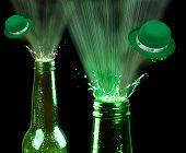image of leprechaun  - Saint Patrick Day green beer - JPG