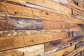 foto of timber  - timber wood panel plank wall texture background - JPG
