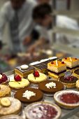picture of sugar industry  - Making pastries and desserts in a bakery - JPG