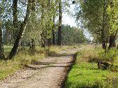 pic of bohemia  - autumn landscape southern Bohemia  - JPG