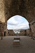 image of crusader  - Inside the ancient crusader fortress at Byblos - JPG