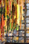 image of prayer beads  - Prayers beads that are used in many religions and cultures - JPG