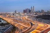 foto of dubai  - Dubai Internet Cty at night - JPG