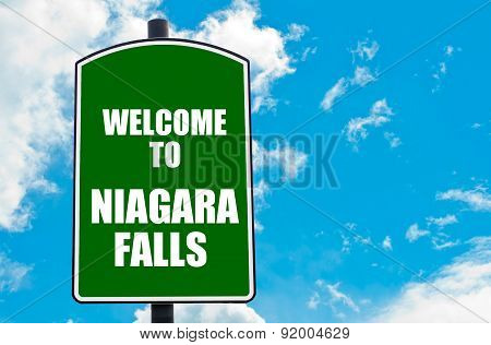 Welcome To Niagara Falls