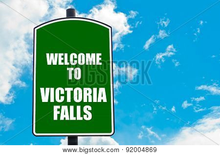 Welcome To Victoria Falls