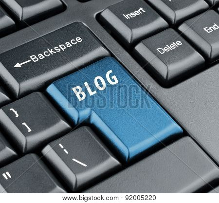 Keyboard Blog Key