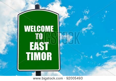 Welcome To East Timor