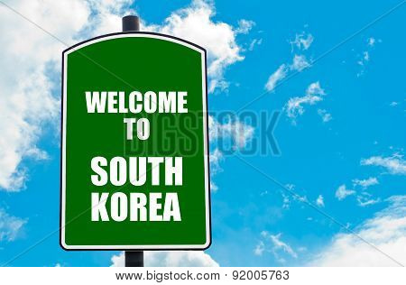 Welcome To South Korea