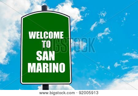 Welcome To San Marino