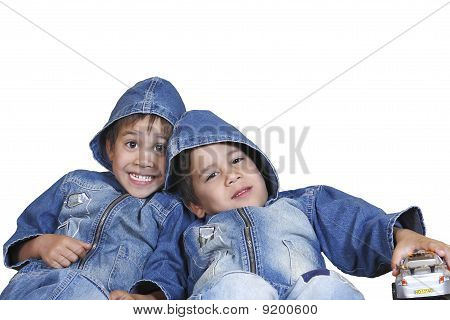 Little Boys Twins