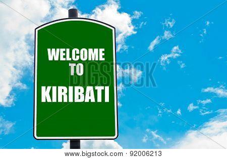 Welcome To Kiribati