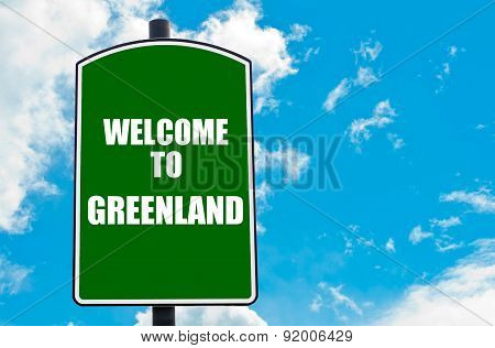 Welcome To Greenland