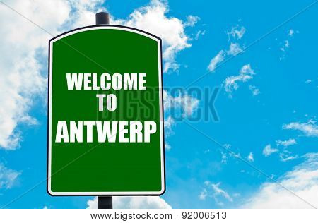 Welcome To Antwerp