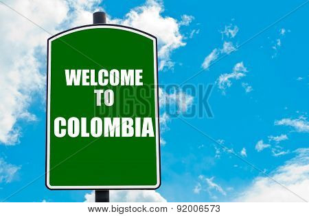 Welcome To Colombia