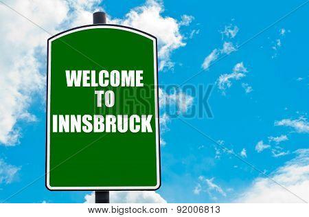 Welcome To Innsbruck