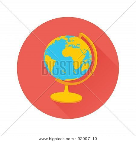 Vector Earth Globe Icon